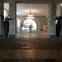 Photo taken at The Westin Resort, Costa Navarino by Carlo V. on 5/11/2012
