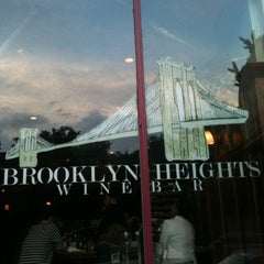 Photo taken at Brooklyn Heights Wine Bar by Carolyn A. on 7/28/2012