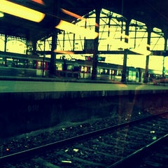 Photo taken at Gare SNCF de Paris Saint-Lazare by Lucile L. on 11/24/2012