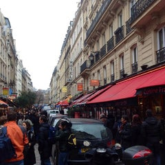 Photo taken at Rue de la Harpe by !MIlton S. 7.1 on 12/31/2012