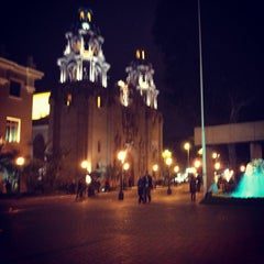 Photo taken at Parque Kennedy by Luis P. on 10/2/2012