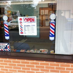 Photo taken at Parkway Barber Shop by Edwin D. on 10/31/2013