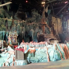 Photo taken at The Eighth Voyage Of Sindbad Stunt Show by Bri H. on 2/25/2013
