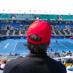 Photo taken at Delray Beach International Tennis Championships (ITC) by Stephen on 3/2/2013