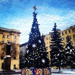Photo taken at Памятник Добролюбову by Светлана on 12/21/2012