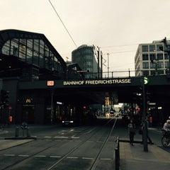 Photo taken at Bahnhof Berlin Friedrichstraße by William T. on 6/28/2015