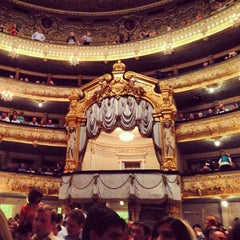 Photo taken at Мариинский театр / Mariinsky Theatre by Elena MADON N. on 5/29/2013