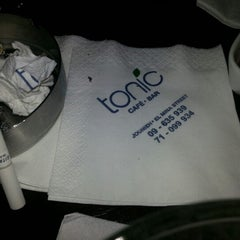 Photo taken at Tonic Café Bar by Joubran A. on 11/3/2012
