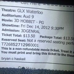 Photo taken at Waterloo Galaxy Cinemas by Lea T. on 12/15/2012