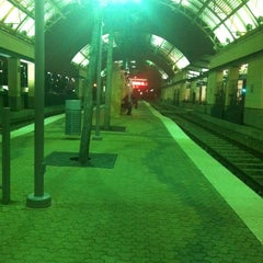 Photo taken at Downtown Garland Station (DART Rail) by Brittany S. on 3/9/2013
