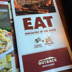 Photo taken at Outback Steakhouse by Angela R. on 1/31/2015
