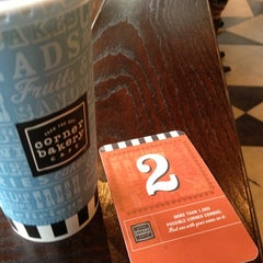 Photo taken at Corner Bakery Cafe by Craig Y. on 1/1/2013