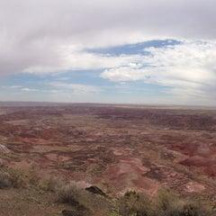 Photo taken at Painted Desert by John H. on 7/22/2014