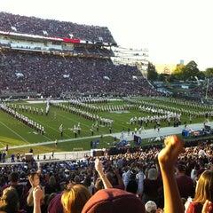 Photo taken at Davis Wade Stadium at Scott Field by Tricia L. on 10/21/2012