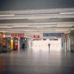 Photo taken at Metro =C= Nádraží Holešovice by Pavel C. on 1/19/2014