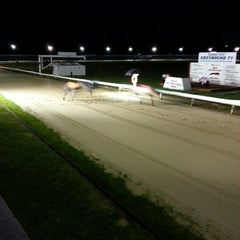 Photo taken at Henlow Dog Stadium by Chris W. on 10/19/2013