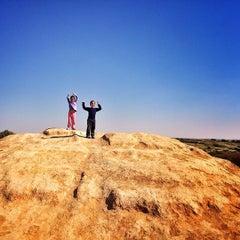 Photo taken at Kibbutz Gvulot by Offir A. on 2/9/2014