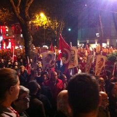 Photo taken at Bağdat Caddesi by Sule B. on 10/29/2013