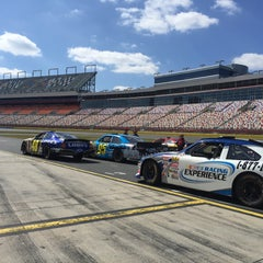 Photo taken at Charlotte Motor Speedway by Umut A. on 3/6/2016