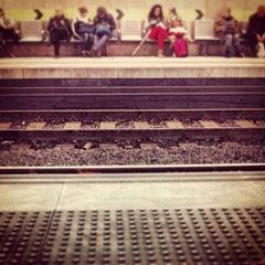 Photo taken at RENFE Passeig de Gràcia by Manel F. on 3/9/2013