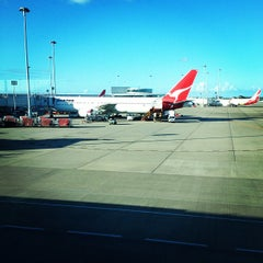 Photo taken at Brisbane Domestic Terminal by Jeremy H. on 2/11/2013