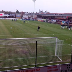 Photo taken at The London Borough of Barking & Dagenham Stadium by Adrian C. on 1/1/2014