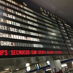 Photo taken at New York Penn Station by Karen S. on 3/28/2013