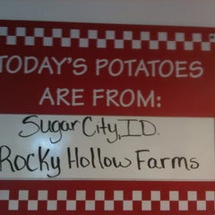 Photo taken at Five Guys by Beth P. on 5/15/2013