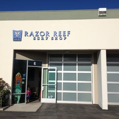 Photo taken at Razor Reef Surf Shop by Erich B. on 4/11/2013