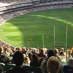 Photo taken at Melbourne Cricket Ground (MCG) by Ivan T. on 5/19/2013