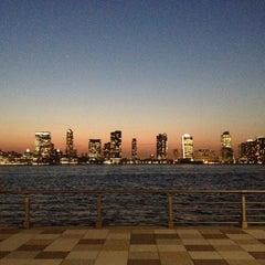 Photo taken at Pier 25 — Hudson River Park by Kateryna S. on 10/5/2012