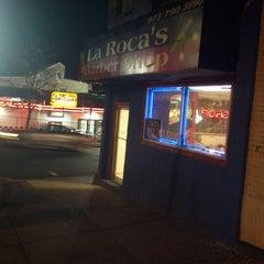 Photo taken at La Roca's Barber Shop by Marvin J. on 12/23/2012