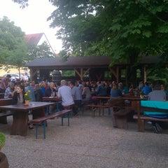 Photo taken at Brauereischenke Kastaniengarten by Florian E. on 6/17/2015