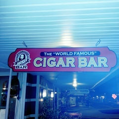 "Photo taken at The ""World Famous"" Cigar Bar by Thomas G. on 11/29/2012"