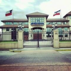 Photo taken at Ilustre Municipalidad de Chillán Viejo by Tamara S. on 12/21/2012
