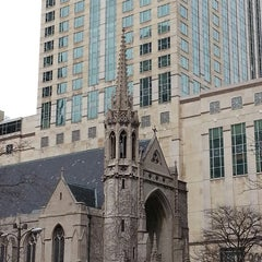Photo taken at Fourth Presbyterian Church by Ashland T. on 3/17/2013