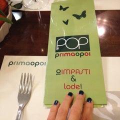 Photo taken at Pizzeria Prima O Poi by Italia on 12/17/2014
