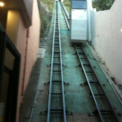 Photo taken at Funicular Panorámico by Saraí C. on 11/16/2012