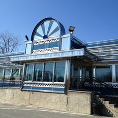 Photo taken at Blue Colony Diner by Bobby I. on 4/8/2013