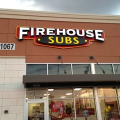 Photo taken at Firehouse Subs by Stuart B. on 11/3/2012