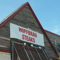 Photo taken at Hoffbrau Steaks by Shelby on 10/16/2015