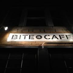 Photo taken at Bite Café by Samantha O. on 12/12/2012