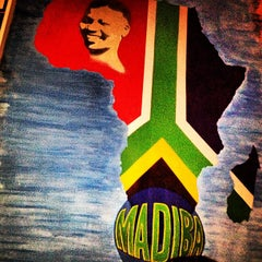 Photo taken at Madiba Restaurant by Xavier B. on 2/19/2013