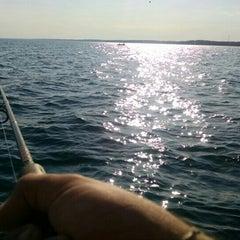 Photo taken at Lake Erie by Matthew A. on 5/4/2015