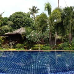 Photo taken at Gajapuri Resort and Spa Koh Chang by Birthe Moon Ji Kyung L. on 2/2/2013