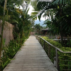 Photo taken at Gajapuri Resort and Spa Koh Chang by Birthe Moon Ji Kyung L. on 2/6/2013