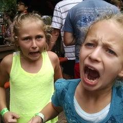 Photo taken at Alpengeist - Busch Gardens by Scott J. on 8/23/2014
