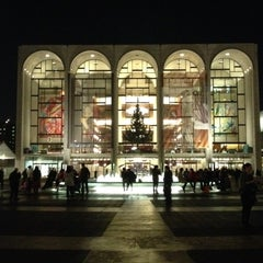 Photo taken at The Metropolitan Opera by Brian A. on 12/5/2012