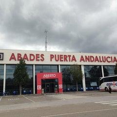 Photo taken at Abades Puerta de Andalucía by Sarita G. on 5/28/2013