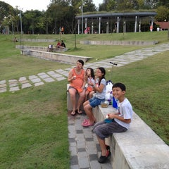 Photo taken at Bishan - Ang Mo Kio Park by Timothy T. on 1/6/2013